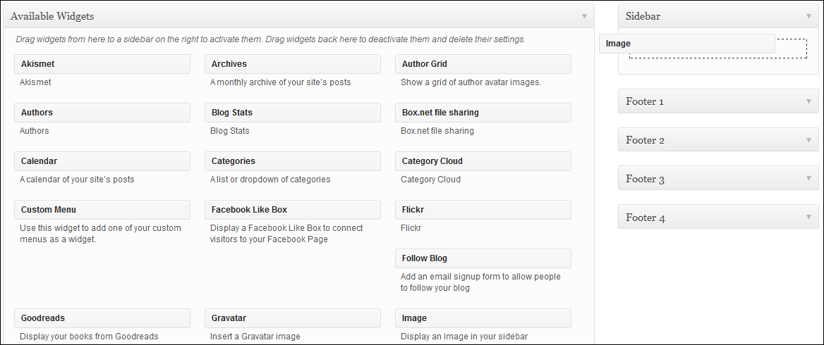 WordPress Tutorial - Image widget